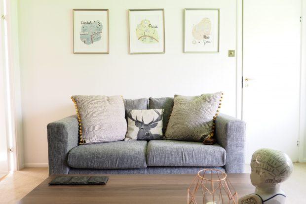 Budget Living Room Makeover, Home style blog