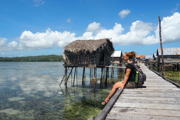 wakatobi scuba diving, bajo tribe