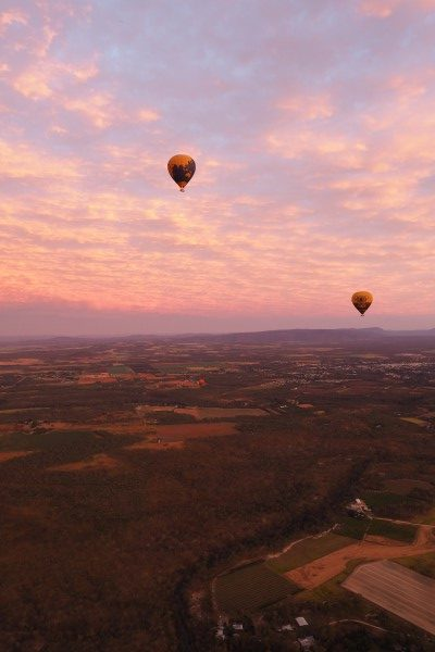 Queensland Hot Air Baloon