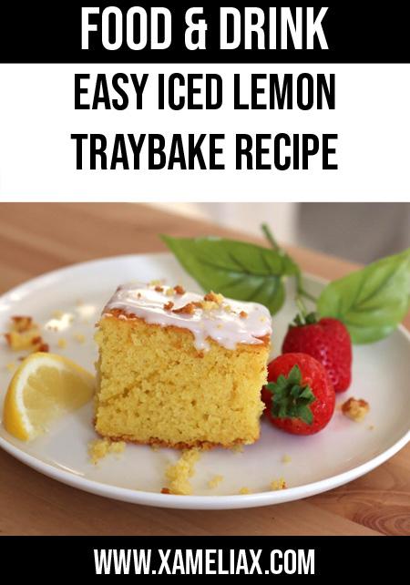 lemon traybake recipe