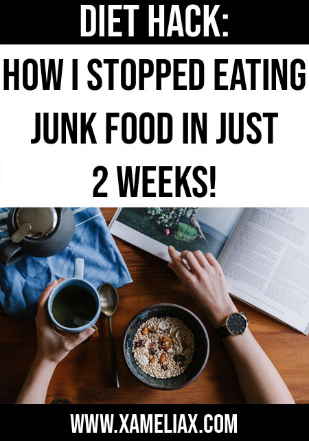 how to stop eating junk food, how to be healthier