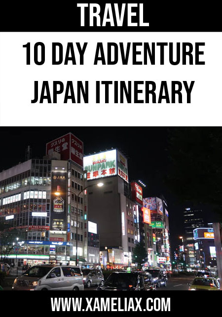 10 day japan itinerary