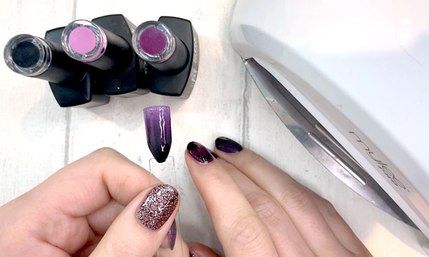 how to do ombre gel nails
