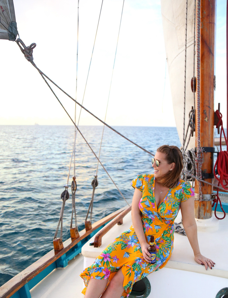 savvy sailing grenada, sunset cruise grenada