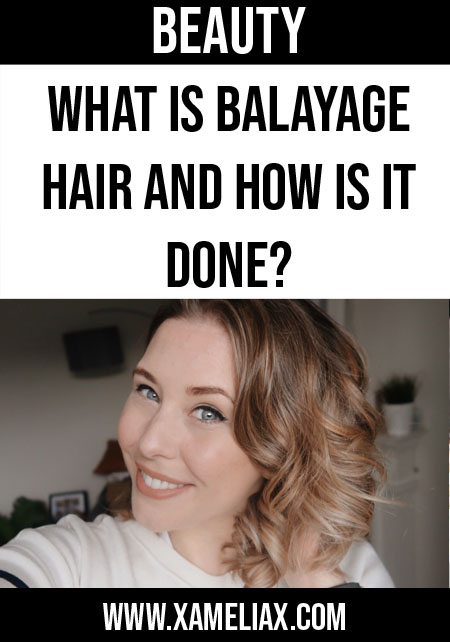 what is balayage hair