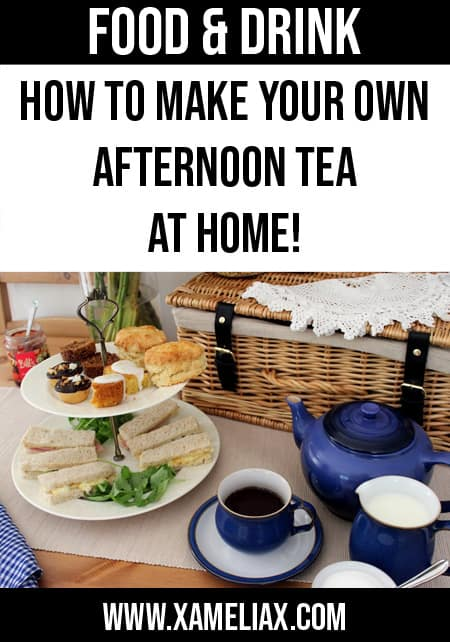 afternoon tea ideas