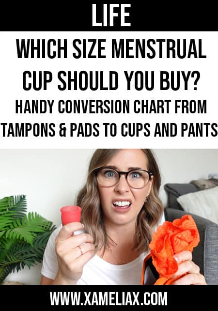 which size menstrual cup