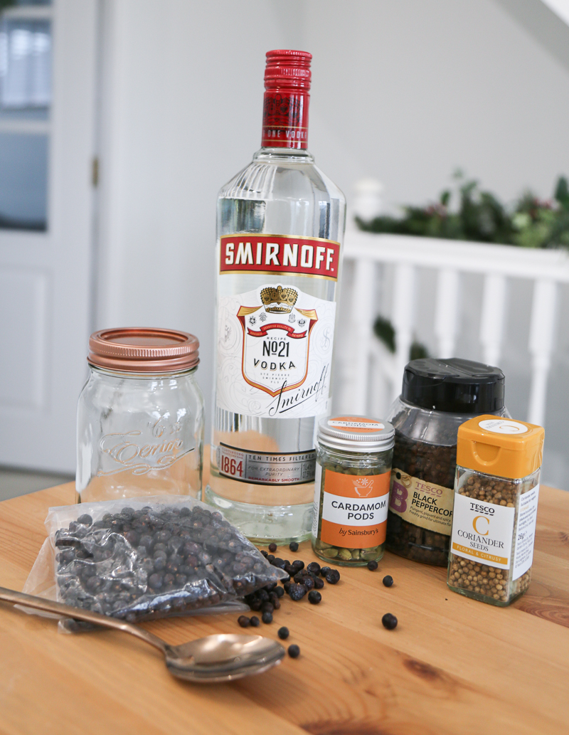how to make gin